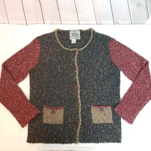 CURIO [ANTHRO] nubby cardigan cardigan sweater